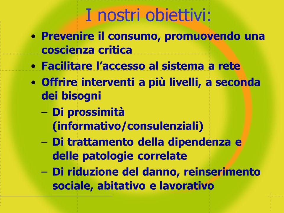 Gli Utenti del Sistema dei Servizi a Piacenza – (le sostanze illegali più usate)