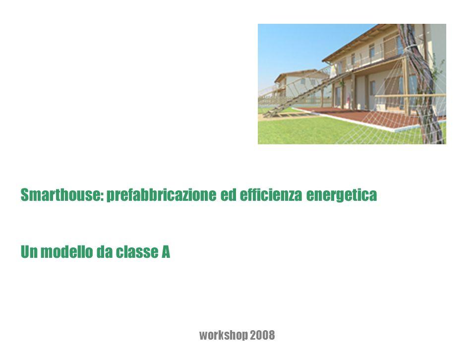Smarthouse: prefabbricazione ed efficienza energetica Un modello da classe A workshop 2008