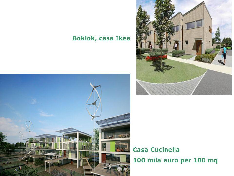Boklok, casa Ikea Casa Cucinella 100 mila euro per 100 mq