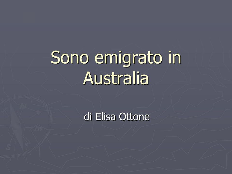 Sono emigrato in Australia di Elisa Ottone