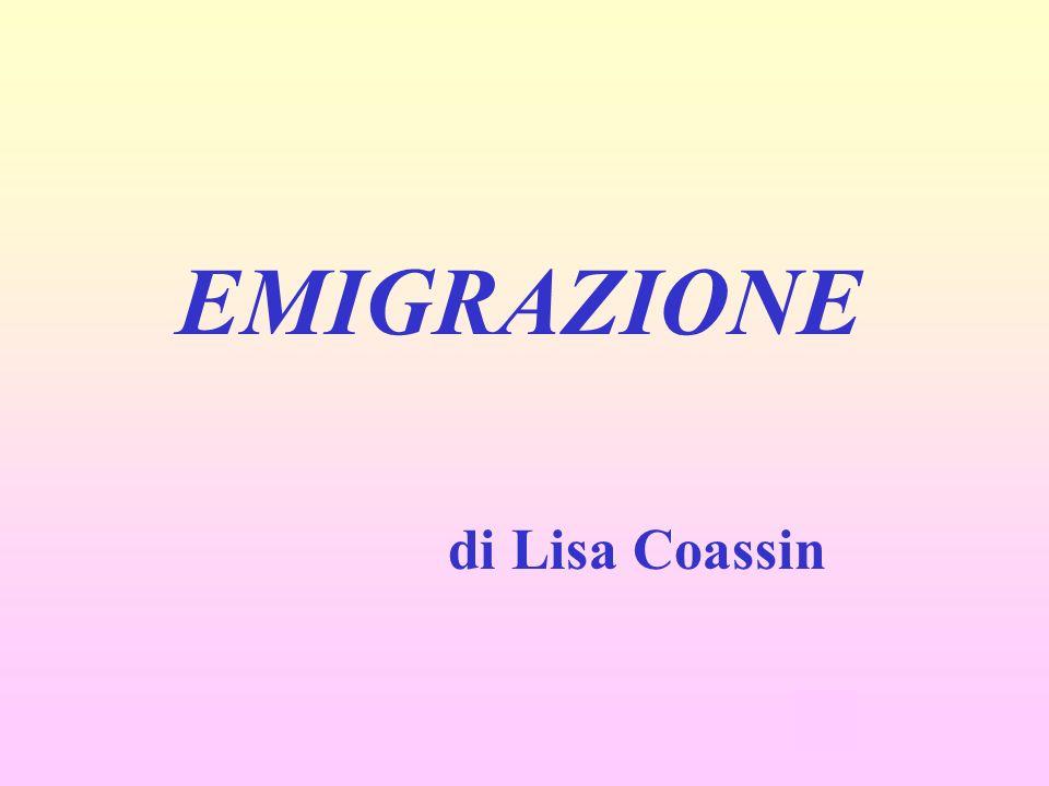 EMIGRAZIONE di Lisa Coassin