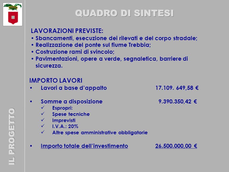 IMPORTO LAVORI Lavori a base dappalto17.109.