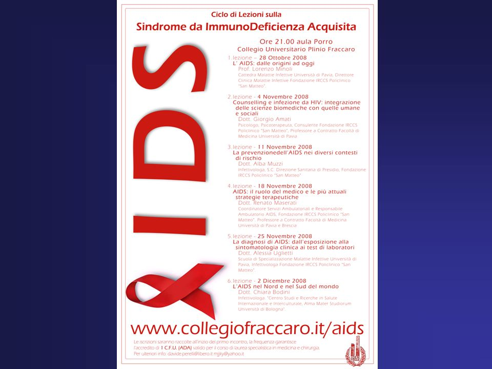Età mediana alla diagnosi di infezione da HIV Età