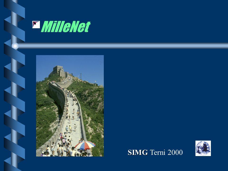 MilleNet SIMG SIMG Terni 2000