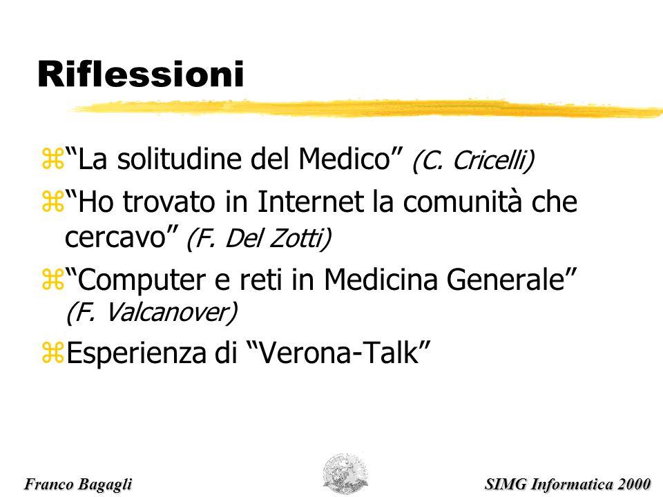 Riflessioni zLa solitudine del Medico (C.