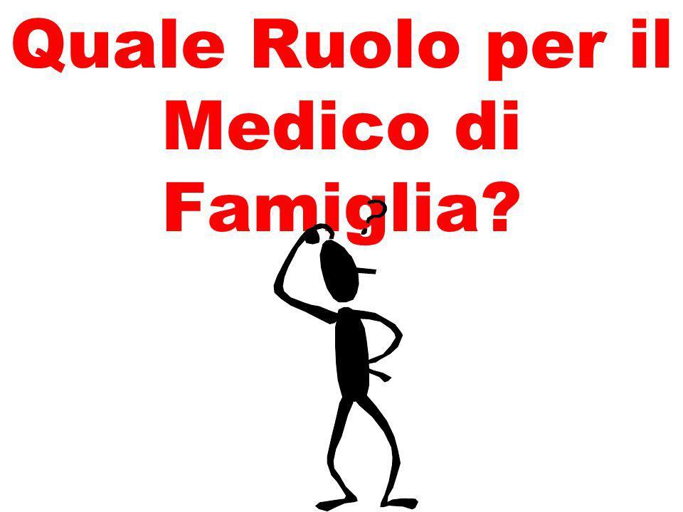 Quale Ruolo per il Medico di Famiglia?