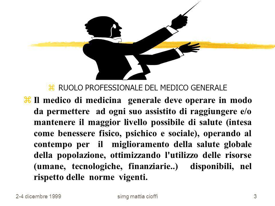 2-4 dicembre 1999simg mattia cioffi13 Ci sono quattro tipi di...medici...