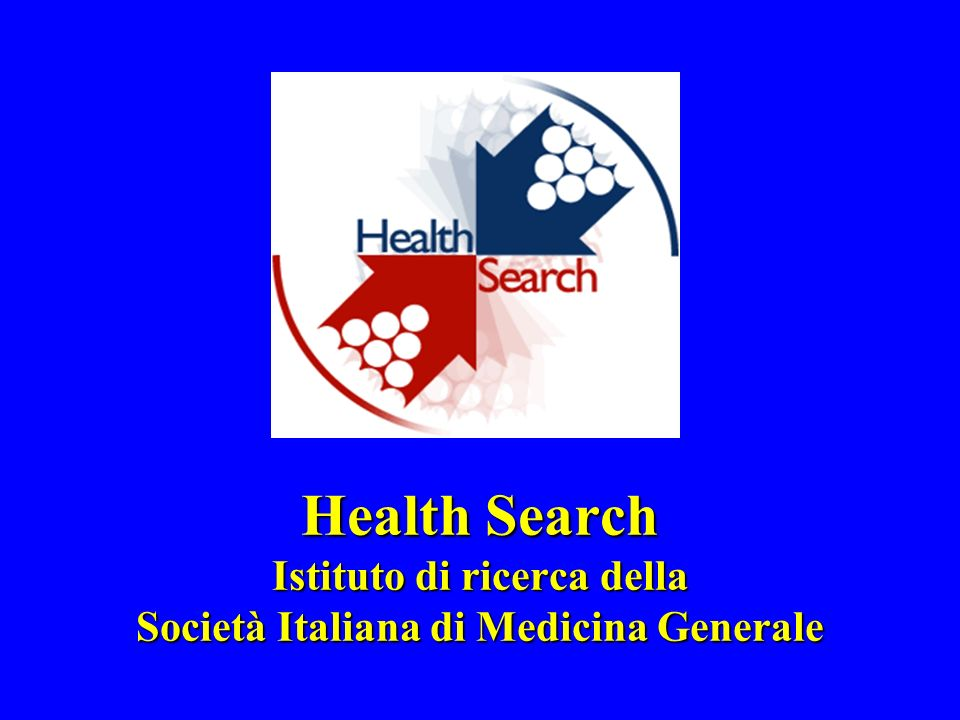 Health Search Istituto di ricerca della Società Italiana di Medicina Generale