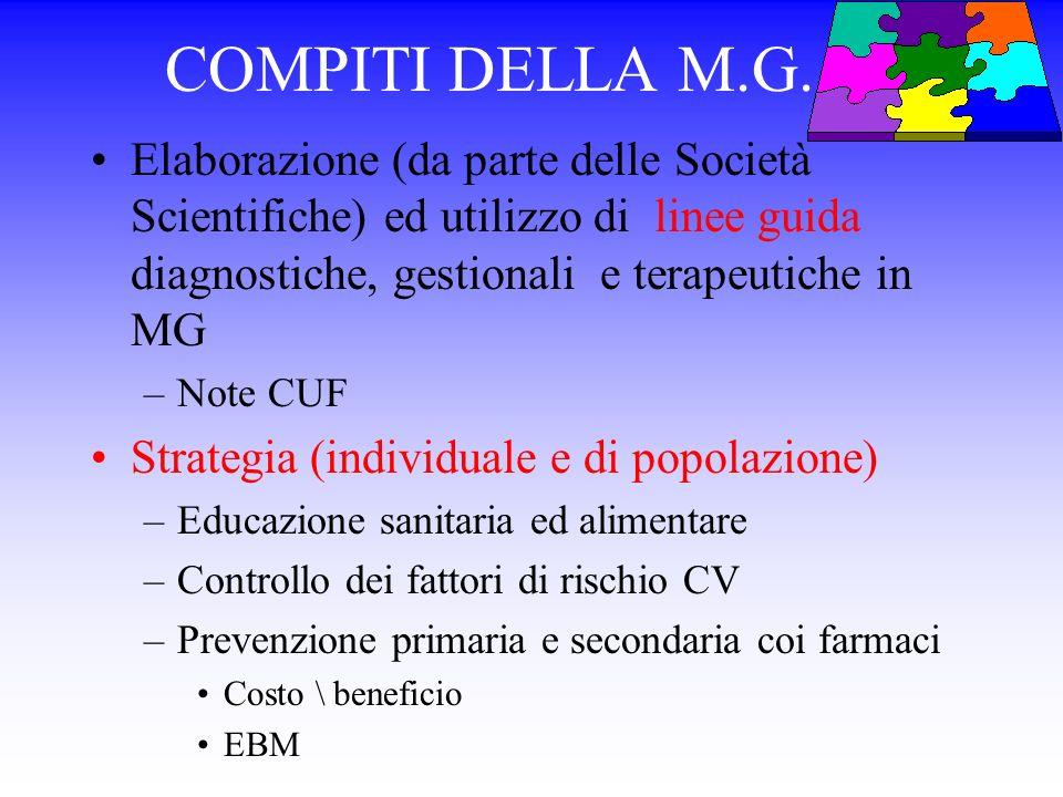 VALORI DELLE LIPOPROTEINE PLASMATICHE NELLADULTO (in mg\dl ) Nazional Cholesterol Education Program JAMA 1993