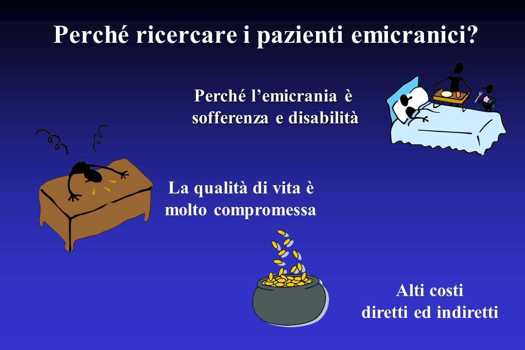 Grado MIDASPunteggio MIDAS I: disabilità minima o assente0-5 II: disabilità lieve6-10 III: disabilità moderata11-20 IV: disabilità grave21+ I GRADI MIDAS