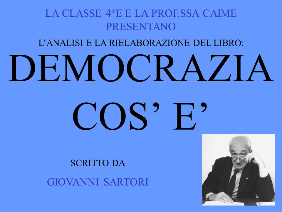 IV TORNA ALLINDICE