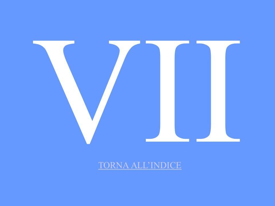 VII TORNA ALLINDICE