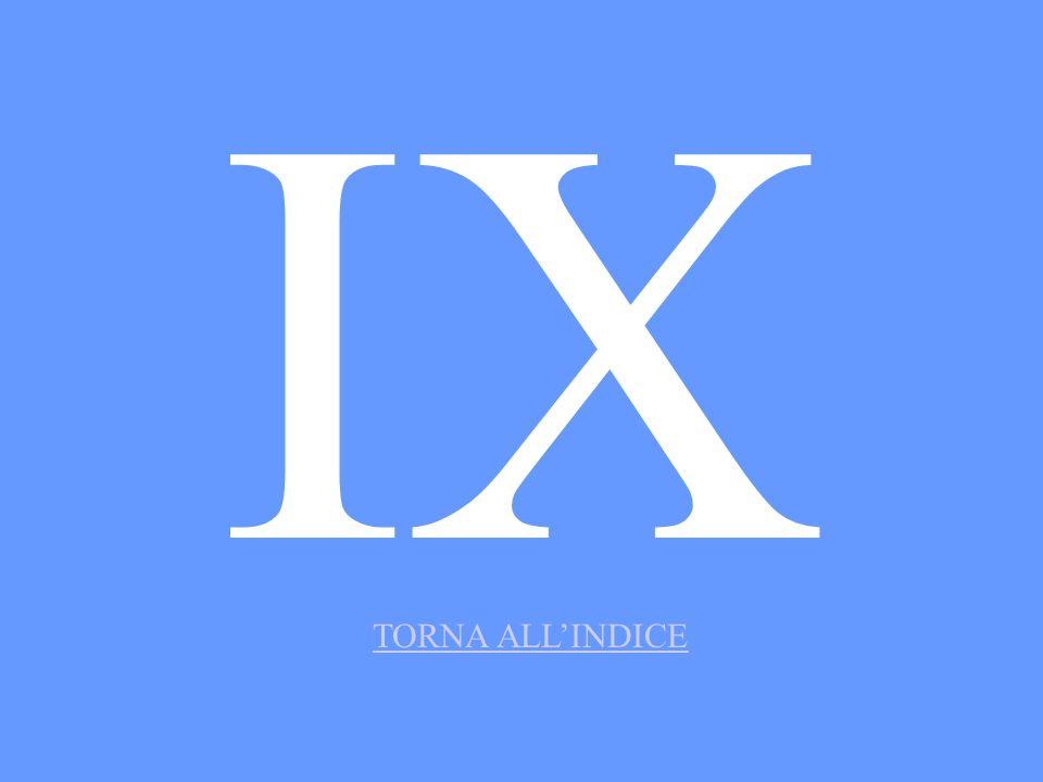 IX TORNA ALLINDICE