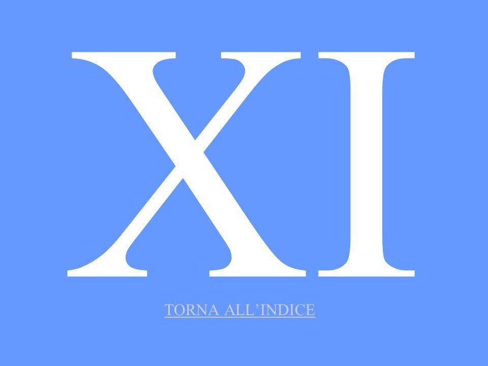 XI TORNA ALLINDICE