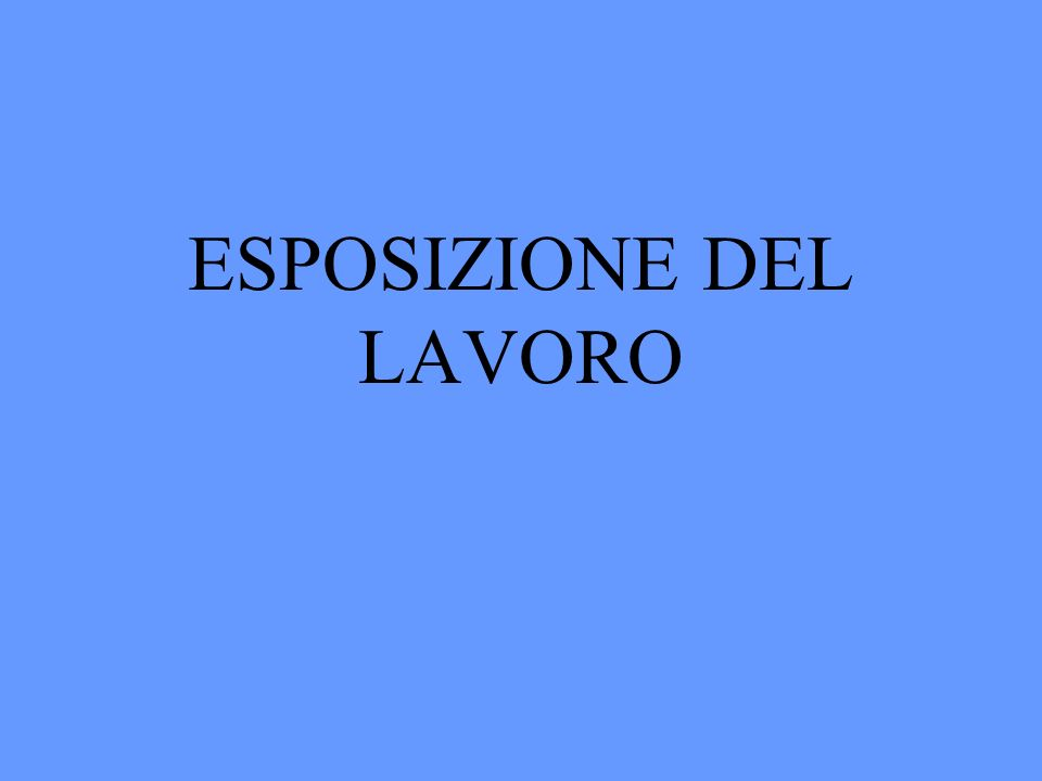 I TORNA ALLINDICE