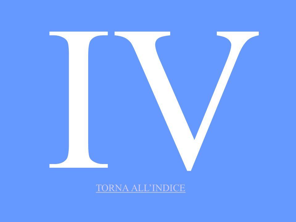 IV TORNA ALLINDICE