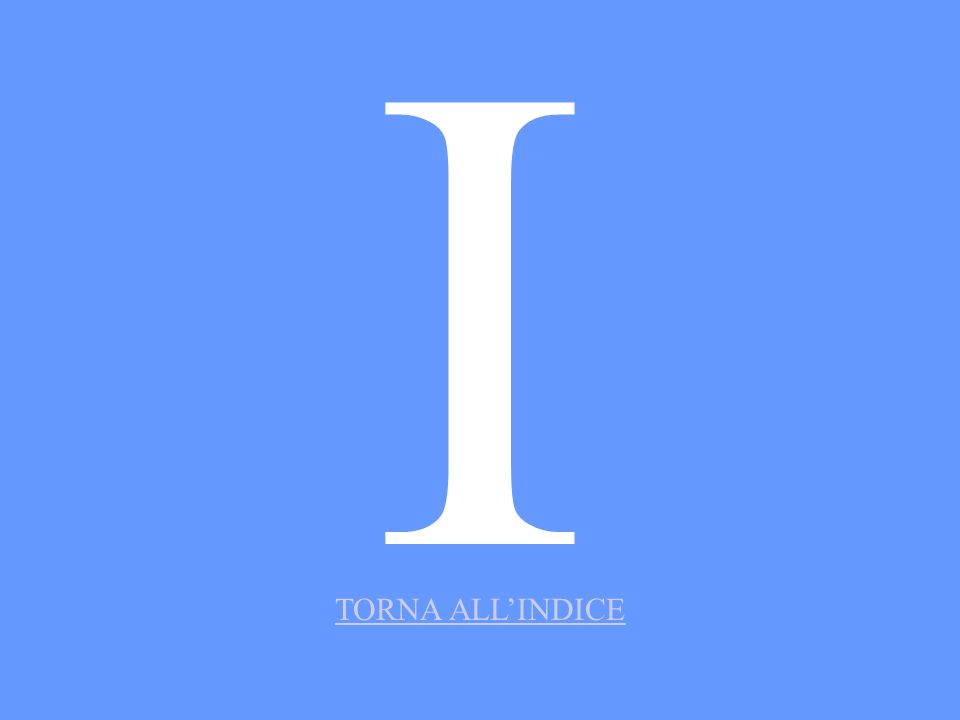 II TORNA ALLINDICE