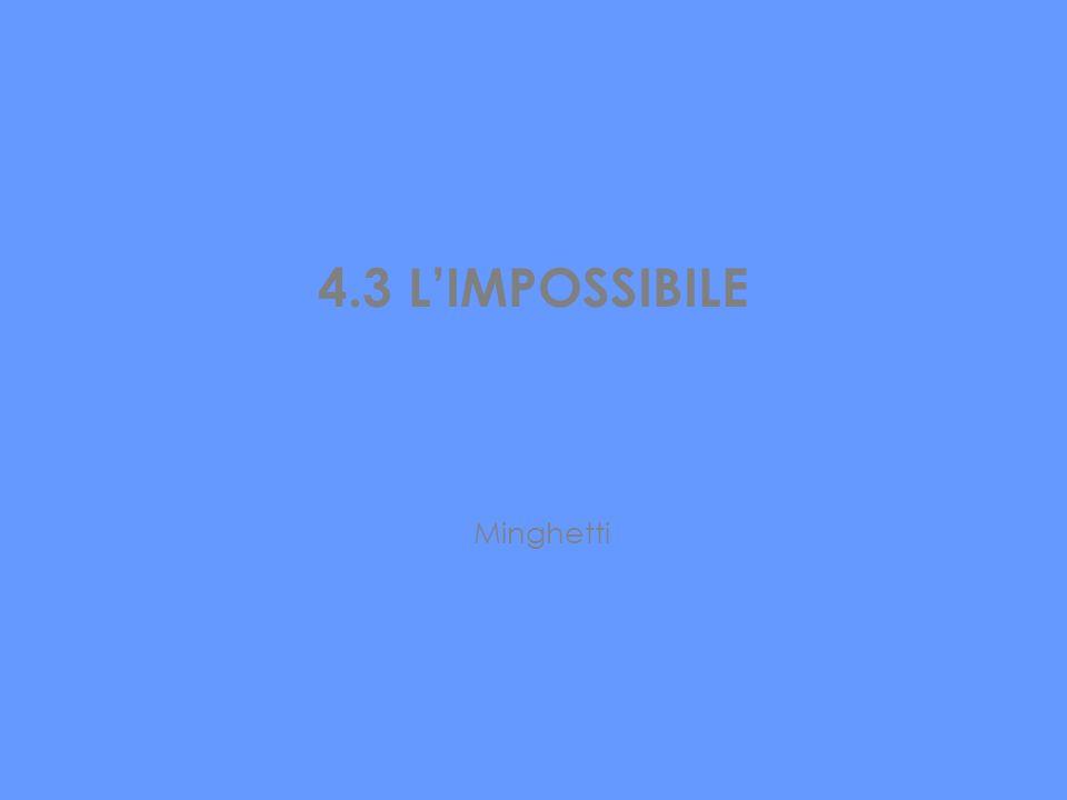 4.3 LIMPOSSIBILE Minghetti