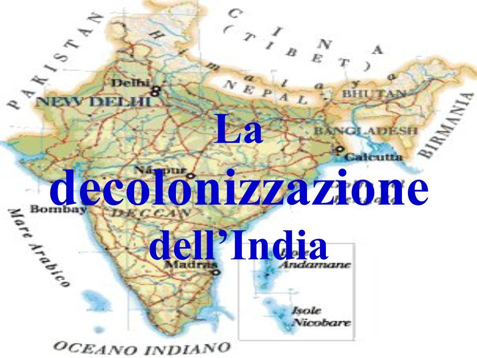 La decolonizzazione dellIndia