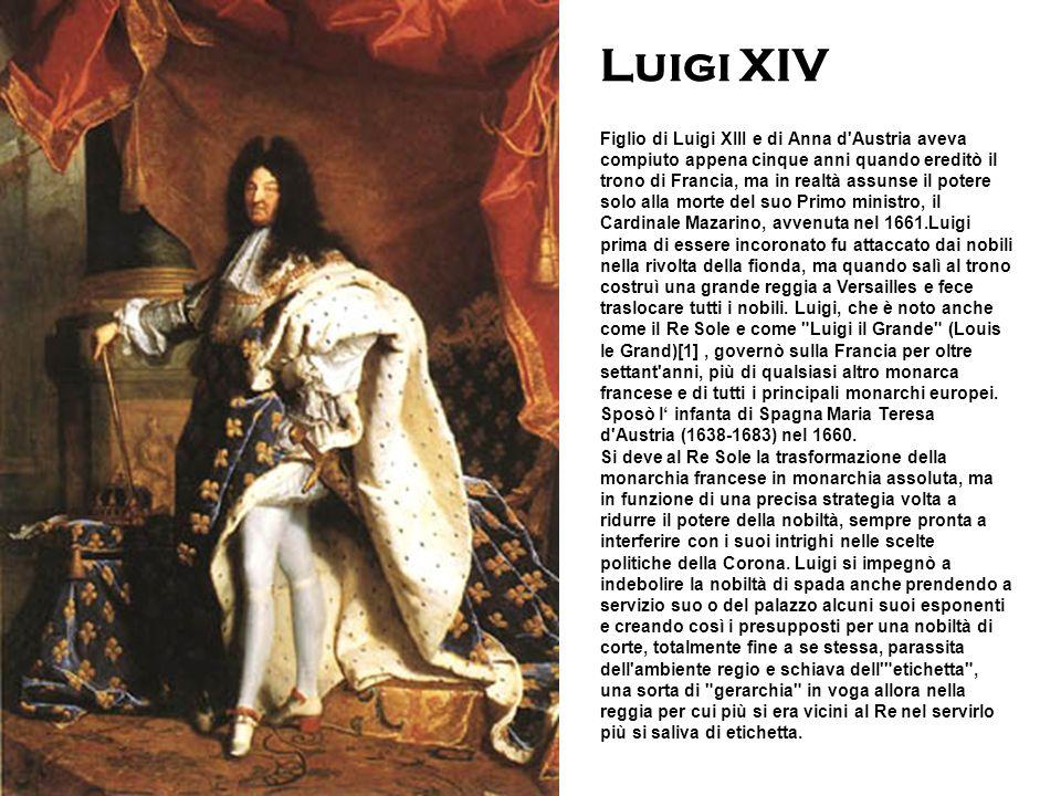 Figlio di Luigi XIII e di Anna d'Austria aveva compiuto appena cinque anni quando ereditò il trono di Francia, ma in realtà assunse il potere solo all