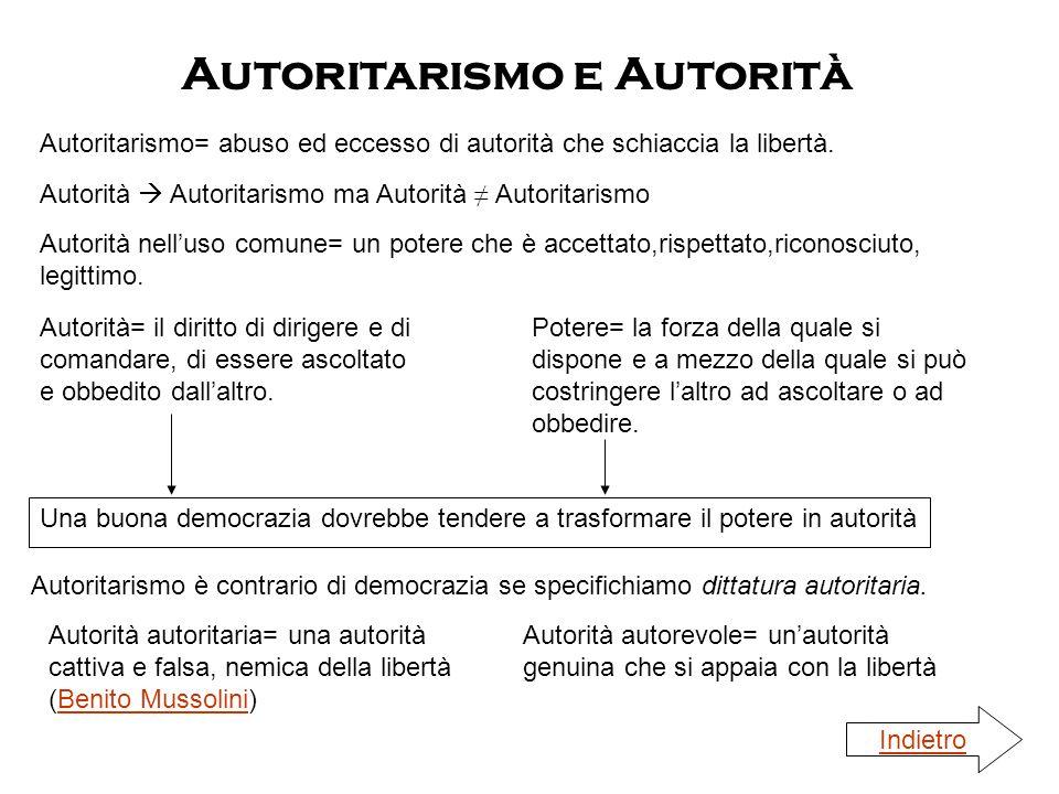 Autorità Autoritarismo ma Autorità Autoritarismo Autoritarismo e Autorità Autorità nelluso comune= un potere che è accettato,rispettato,riconosciuto,