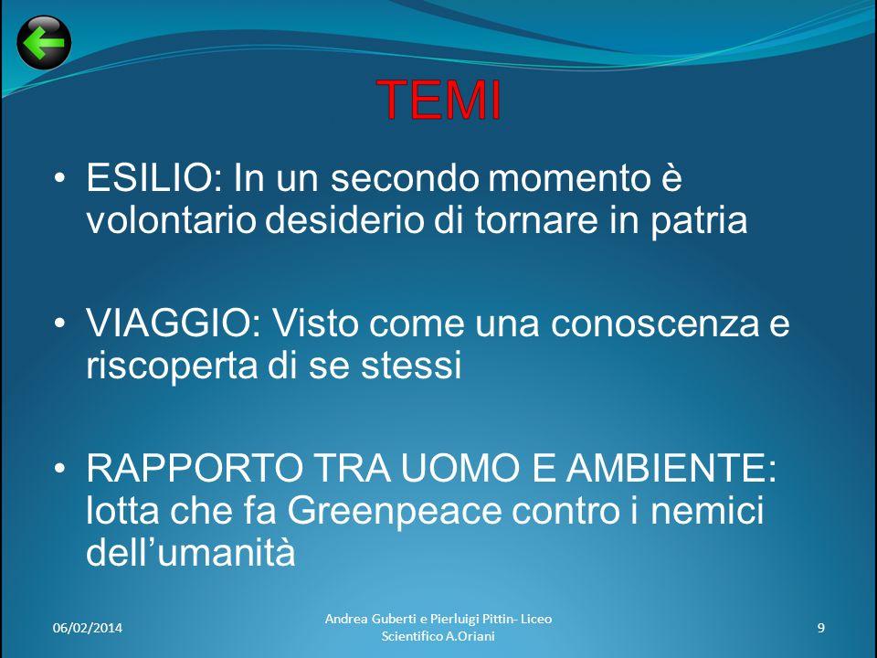 06/02/201410 Andrea Guberti e Pierluigi Pittin- Liceo Scientifico A.Oriani