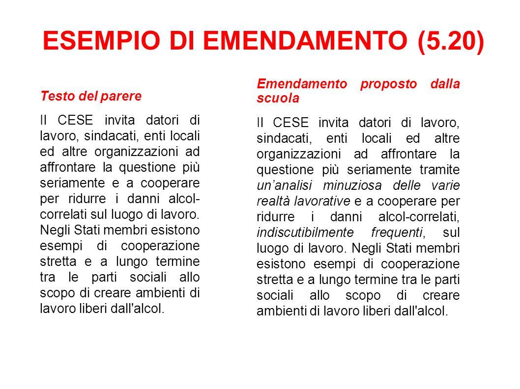 Testo del parere Il CESE invita datori di lavoro, sindacati, enti locali ed altre organizzazioni ad affrontare la questione più seriamente e a coopera