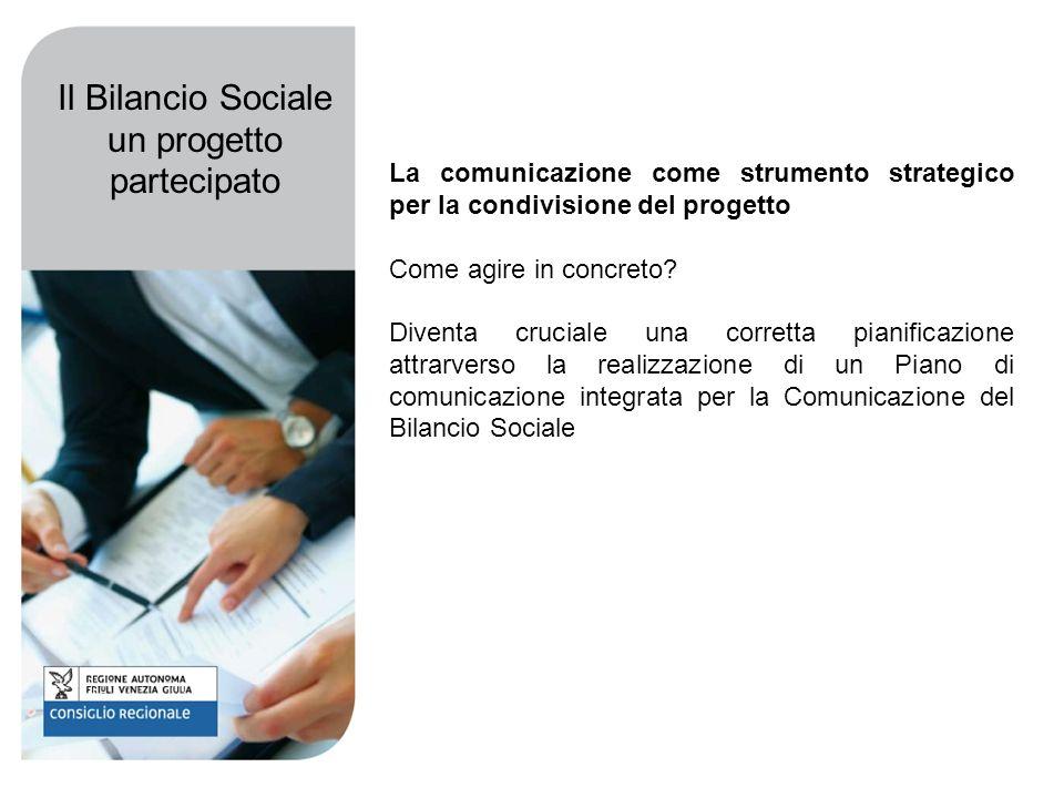 La comunicazione come strumento strategico per la condivisione del progetto Come agire in concreto.
