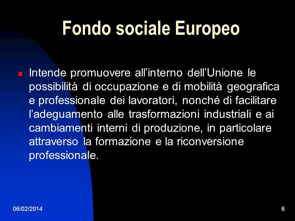 06/02/20147 Mercato interno Comporta uno spazio senza frontiere interne, nel quale è assicurata la libera circolazione delle merci, delle persone, dei servizi e dei capitali secondo le disposizioni dei trattati.