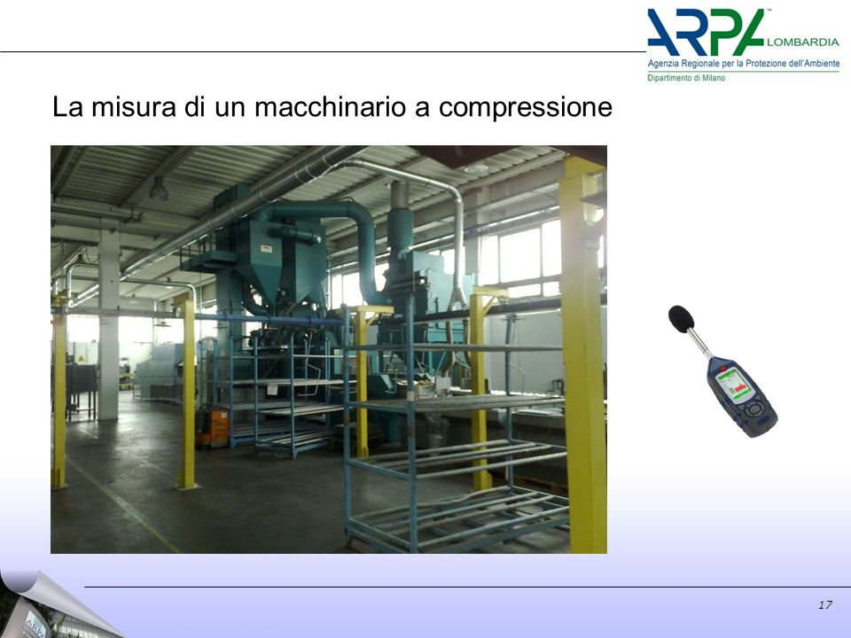 17 La misura di un macchinario a compressione