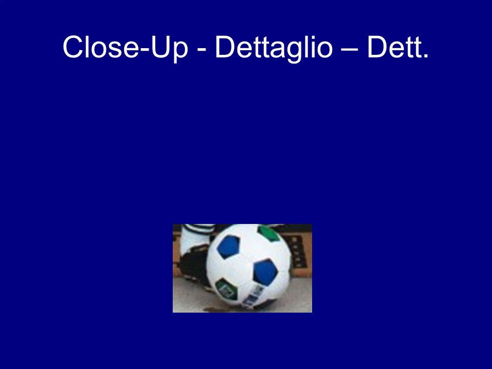 Close-Up - Dettaglio – Dett.