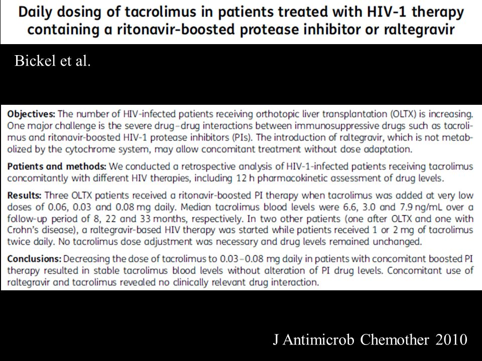 Bickel et al. J Antimicrob Chemother 2010