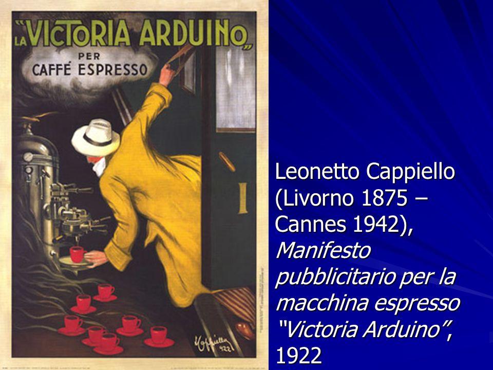 Leonetto Cappiello (Livorno 1875 – Cannes 1942), Manifesto pubblicitario per la macchina espresso Victoria Arduino, 1922