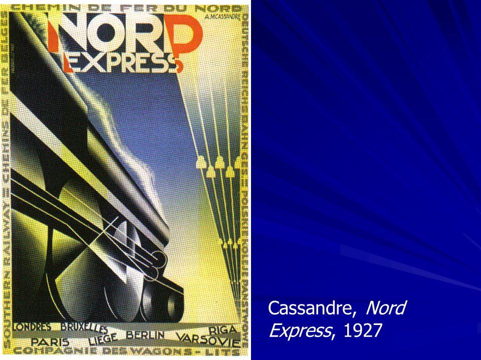 Cassandre, Nord Express, 1927