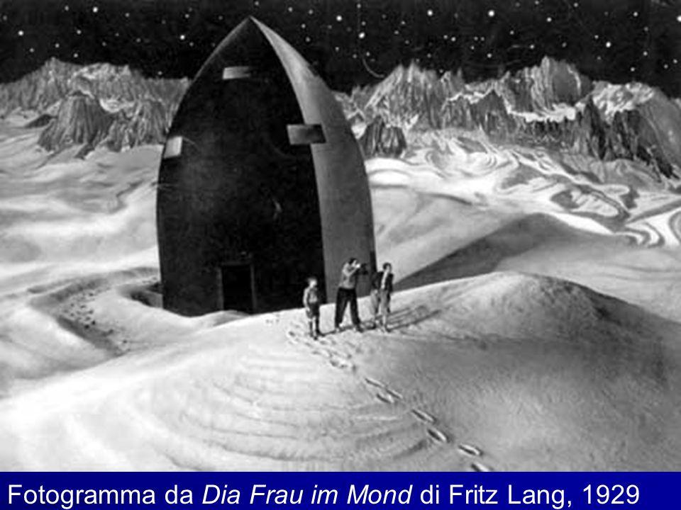 Fotogramma da Dia Frau im Mond di Fritz Lang, 1929