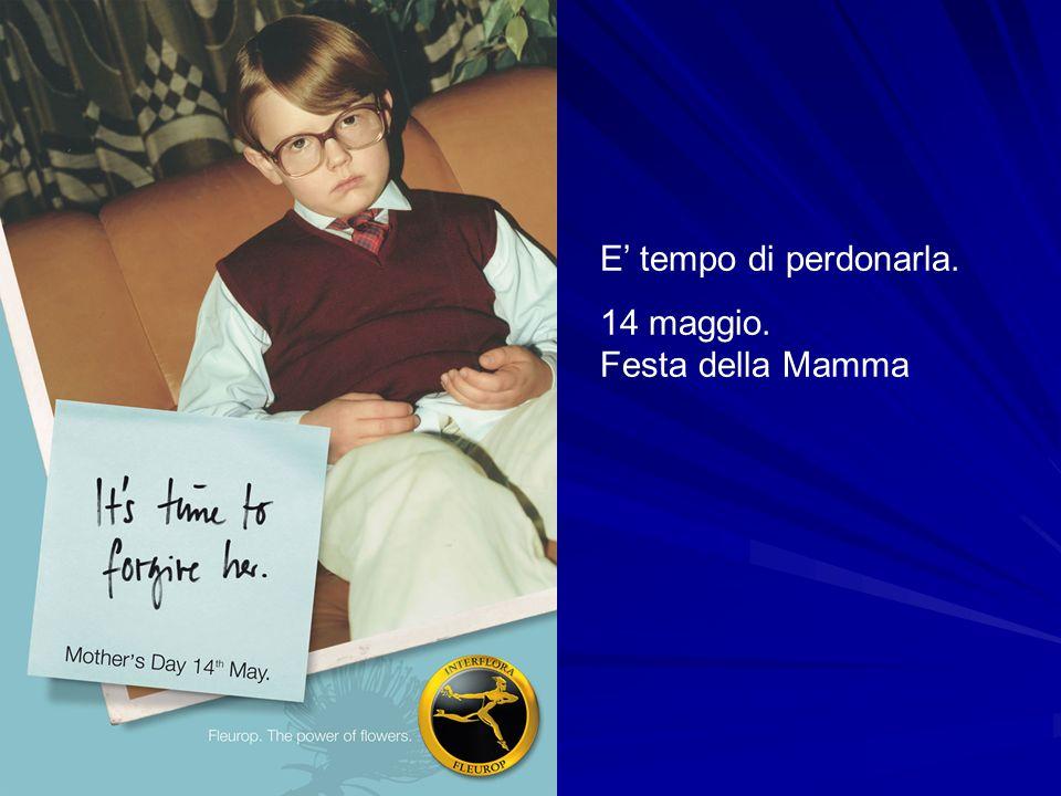 E tempo di perdonarla. 14 maggio. Festa della Mamma