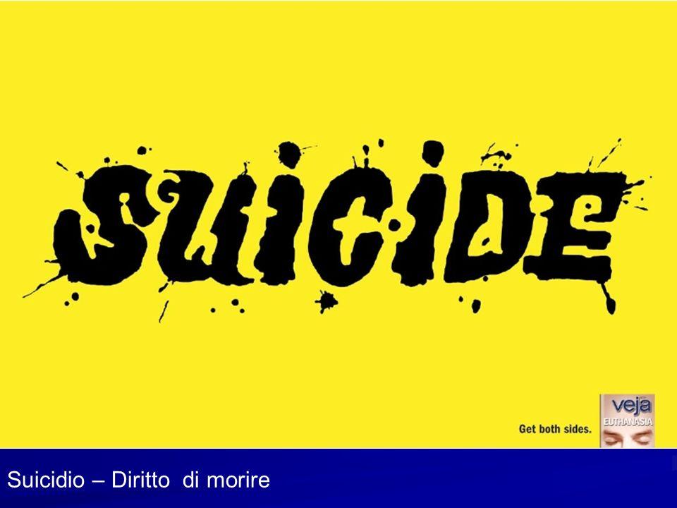 Suicidio – Diritto di morire