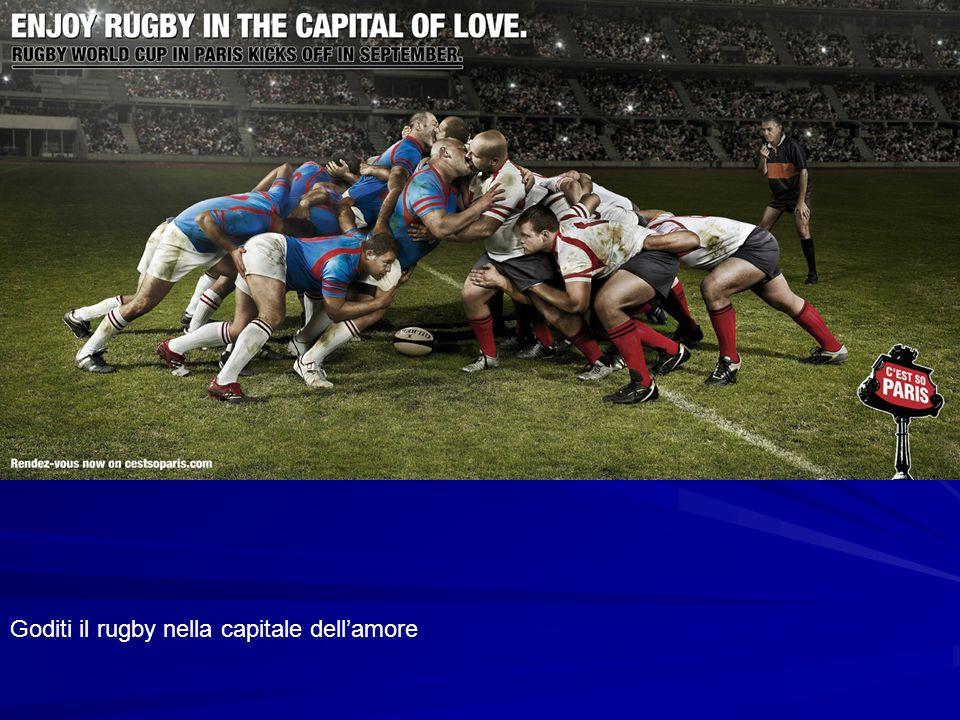 Goditi il rugby nella capitale dellamore
