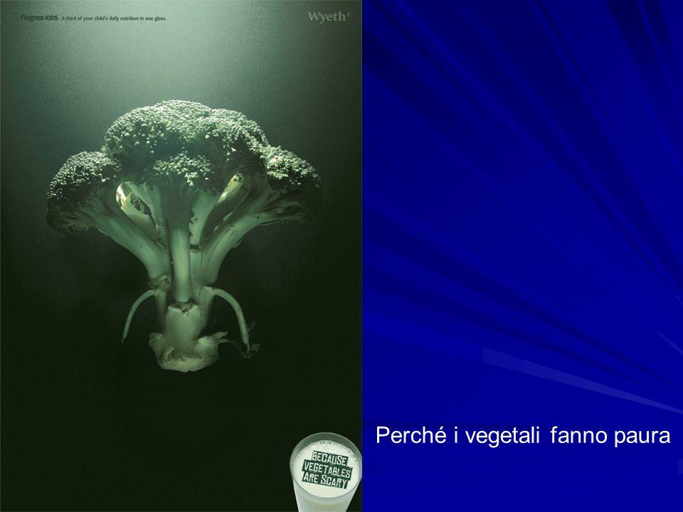 Perché i vegetali fanno paura