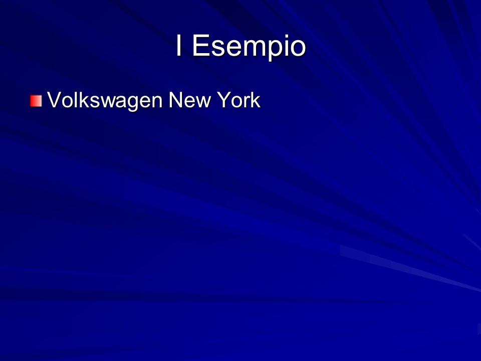 I Esempio Volkswagen New York