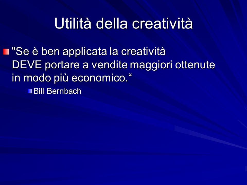 Utilità della creatività