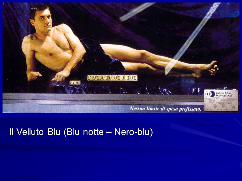 Il Velluto Blu (Blu notte – Nero-blu)