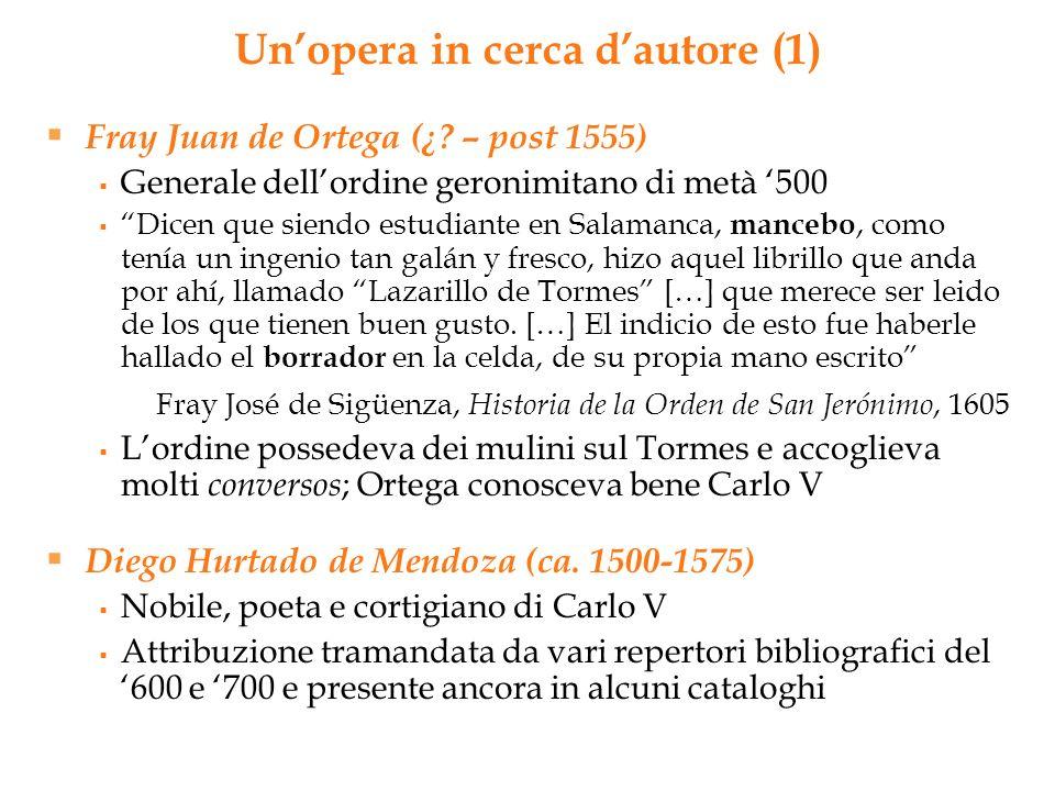 Fray Juan de Ortega (¿? – post 1555) Generale dellordine geronimitano di metà 500 Dicen que siendo estudiante en Salamanca, mancebo, como tenía un ing