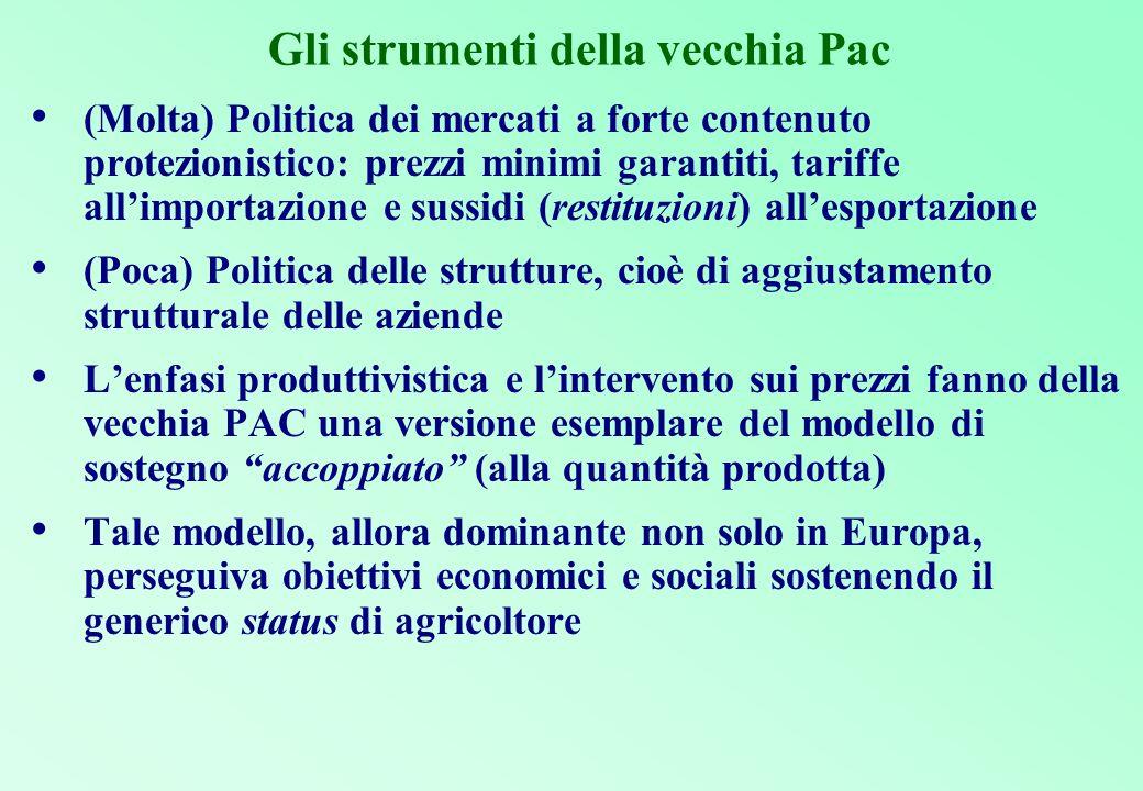 Le prime proposte di revisione di medio-termine di Agenda 2000 Le tappe Un primo documento di Revisione intermedia della politica agricola comunitaria COM(2002) 394 è del Luglio 2002.