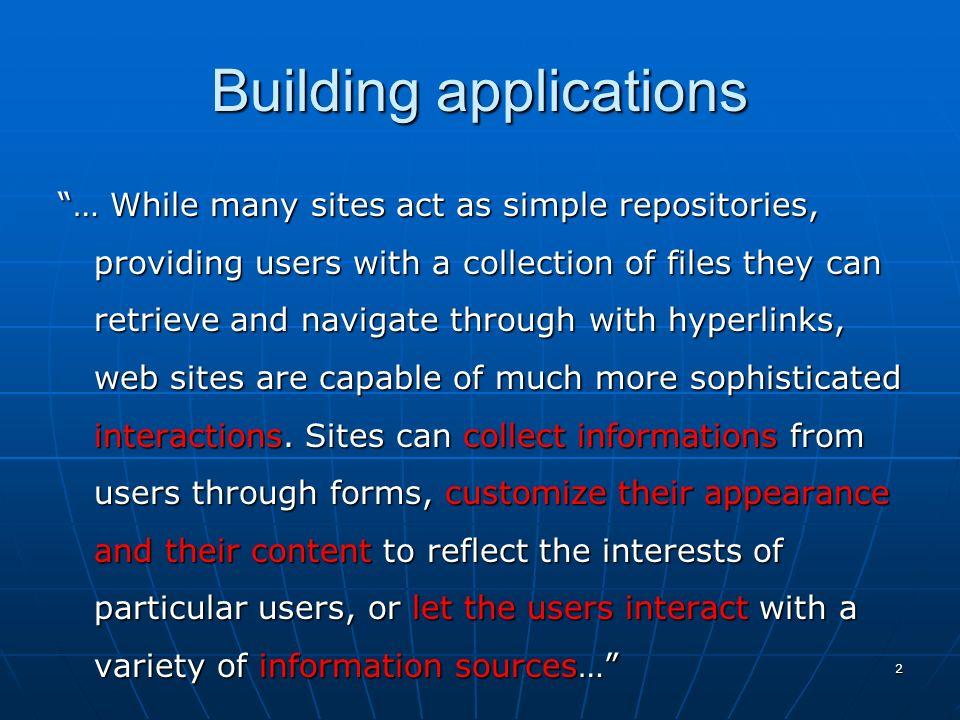 63 Inclusione di file esterni: costrutti require e include Per entrambi questi costrutti la sintassi è la seguente: Per entrambi questi costrutti la sintassi è la seguente: require [file] include [file] Ad esempio, per inserire in un certo punto del proprio script unaltro script denominato libreria.php3, si scriverà require libreria.php3 oppure include libreria.php3.