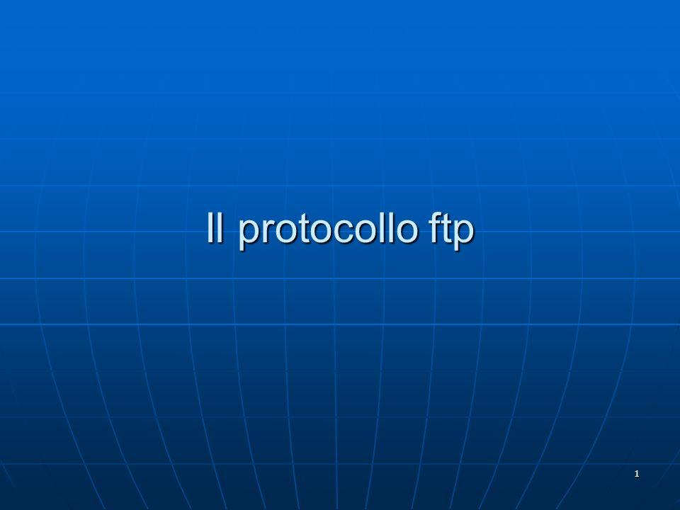 1 Il protocollo ftp