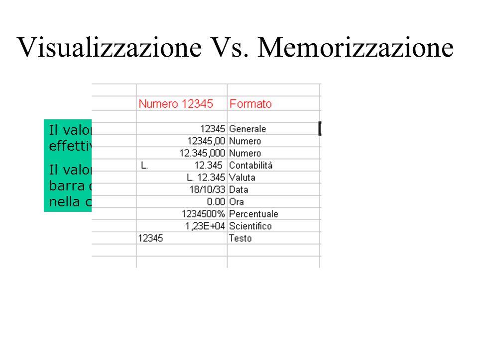 127 Visualizzazione Vs.