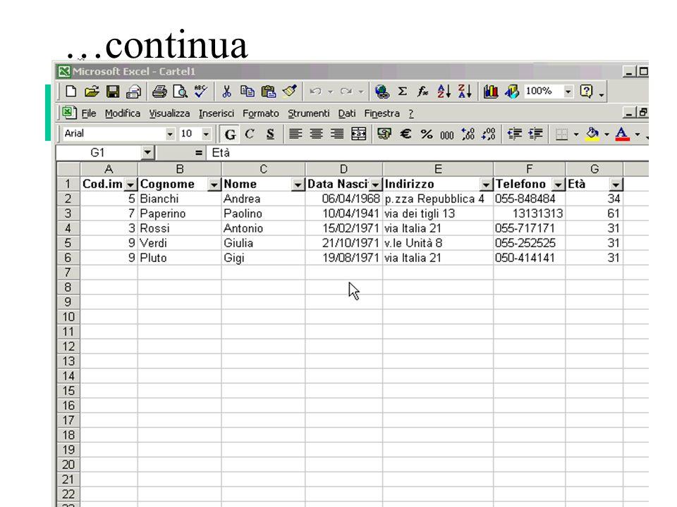 148 …continua Esempio di opzioni: -(Personalizza) criterio di soddisfacibilità di espressione logica Scegliere filtro personalizzato Impostare la condizione del filtro