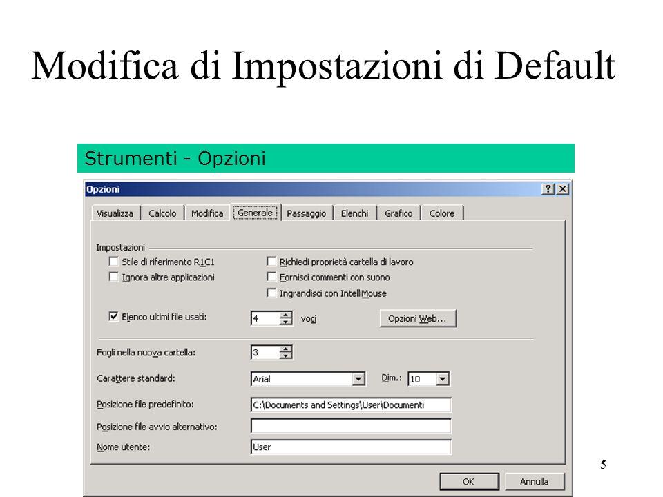126 Laboratorio di Excel Excel 2000: Formattazione dei Numeri Data Base: ordinamento e filtro Grafici: creazione e formattazione