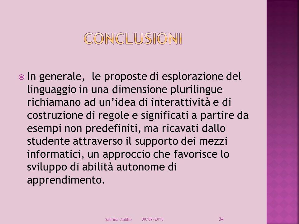 In generale, le proposte di esplorazione del linguaggio in una dimensione plurilingue richiamano ad unidea di interattività e di costruzione di regole